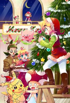 Christmas Party by ~kiyoichi on deviantART