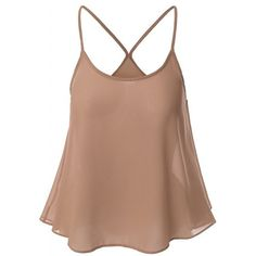 10.13$  Watch now - http://diyro.justgood.pw/go.php?t=175764533 - Sweet U Neck Spaghetti Strap Solid Color Camisole Women's Top