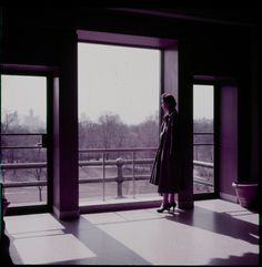 The Metropolitan Museum of Art, Paintings Gallery 37; View looking south, including view of Central Park as seen through windows in gallery; With people. Photographed in 1955. Image © The Metropolitan Museum of Art