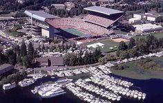 Husky Stadium #WashingtonHuskies