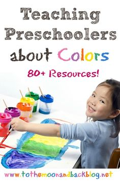 Teaching Preschoolers about Colors - To the Moon and Back