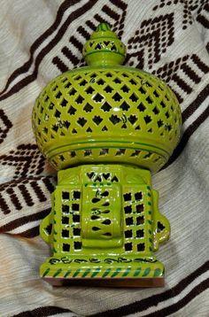 Lanterna Cagè Asoux Verde