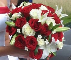 red and white wedding - Google Search
