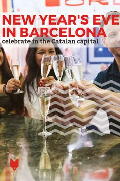 New Year's Eve in Barcelona is the biggest fiesta of the year! Here's where to find the best parties and celebrate like a local. #Barcelona #NYE #party #NewYearsEve #Spain #travel New Years Eve 2018, New Years Party, Places In Europe, Best Places To Travel, Barcelona New Years Eve, Silvester Trip, European Travel, European Vacation, Spanish Culture