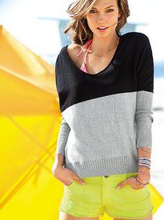 Karlie Kloss for Victoria's Secret, December 2012 (part 3)
