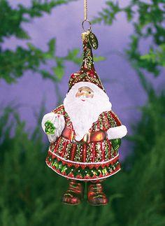 Peaceful Santa Ornament