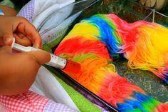 Dyeing Wool Yarn Tutorial