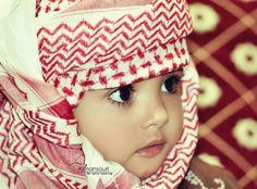 mashallah! cute Arab kid!