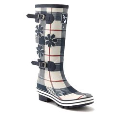 Women's Original Fashion Printing Knee High Rain boot Wellies Multi Color Waterproof Rain boots Wellington Boots Saint George Wellies Tall *** Read more reviews of the product by visiting the link on the image.