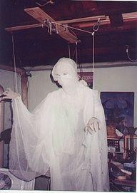 Vintage homemade ghost