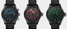 News and Events   New Triple Formation for IWC's Pilot's Watch Squadron   IWC