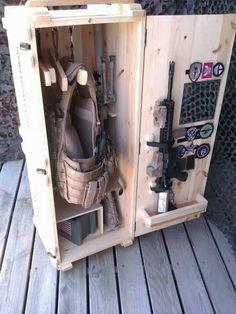 Small Tactical Footlocker.