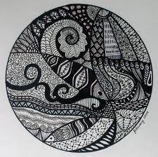 i love the circle zentangles!