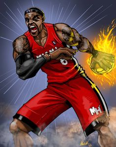 Lebron James by VisibleFire on deviantART