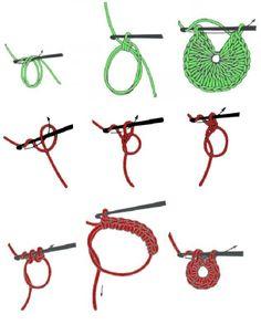 How to Start Crochet - Photo Tutorial ❥ 4U // hf