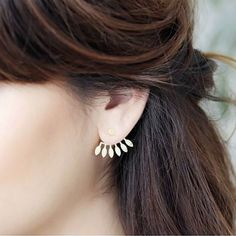 Boucles d'oreilles Amazonas.