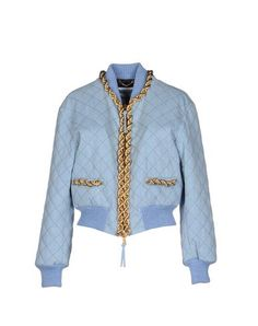 I found this great MOSCHINO COUTURE Denim jacket on yoox.com. Click on the image above to get a coupon code for Free Standard Shipping on your next order. #yoox