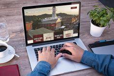 New website for Waynesburg Prosperous & Beautiful Main Street, Design Projects, Website, Beautiful
