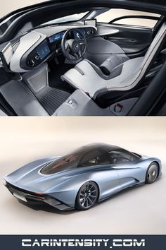 The 2019 McLaren Speedtail hypercar. Watch the video at Car Intensity. New Sports Cars, Exotic Sports Cars, Super Sport Cars, Exotic Cars, Super Cars, Mclaren Cars, Koenigsegg, Concept Cars, Luxury Cars