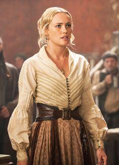 Eleanor Guthrie - Hannah New in Black Sails Season 2 (TV series).