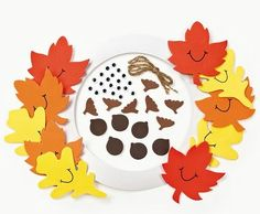 11 All craft kit pieces are pre-packaged for individual use. Kits include instructions and extra pieces. Fall Crafts For Kids, Toddler Crafts, Toddler Activities, Diy For Kids, Winter Craft, Kid Crafts, Wreath Crafts, Decor Crafts, Fall Tree Painting