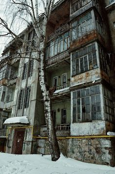 City Aesthetic, Aesthetic Photo, Aesthetic Pictures, Dark City, Eastern Europe, Abandoned Places, Aesthetic Wallpapers, Scenery, World