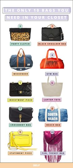 1fb256b44f7f These Are The Only 10 Bags You ll Ever Need to Own