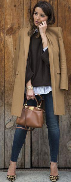 Basics Combo Fall Street Style Inspo #Lovely Pepa