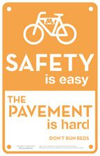 safety on bikes Safety Posters, Road Rage, Safety First, School Posters, Bike Art, Ways To Travel, No Response, Cycling, Bike Ideas