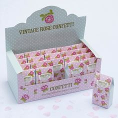 Confettis en forme de coeur pour mariage