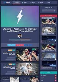 مدونة الأرباح تحميل قالب Vletters Amp معرب افضل قالب بلوجر في Blogger Templates Blog Websites Marketing Sites