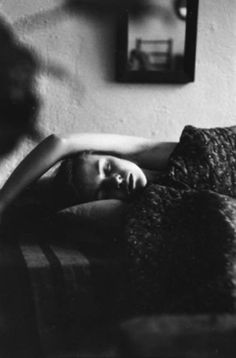 preciousandfregilethings: © Saul Leiter Sleep c. 1955