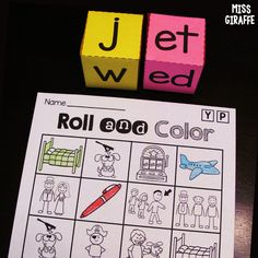 Short E Word Families Games