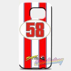 Marco Simoncelli 58 Motogp Honda Team Samsung Galaxy S8 Plus Case Case   casefantasy