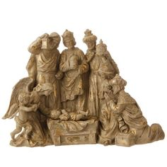 Gold Nativity Figurine, The Printery House