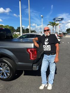 """Mr. McCullough came into Lakeland Automall in the hopes of finding a new vehicle. With the help of salesman Blake Hollingsworth, Mr. McCullough left with a brand new 2016 Ford F-150! """"Outstanding salesman – courteous and friendly!!"""" We really appreciate your business here with us! We hope that you are enjoying your new Ford F-150 and please; if there is anything that we can do, don't hesitate to ask… We are here to help! #LakelandAutomall #LakelandFord #FordF150"""