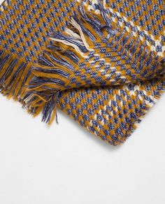 Image 2 of METALLIC INTERWOVEN SCARF from Zara