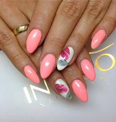 by Monika - Madeleine Studio, Follow us on Pinterest. Find more inspiration at www.indigo-nails.com #nailart #nails #indigo #pink