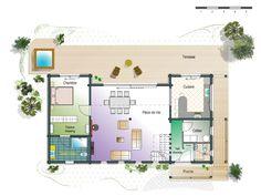 Honka Blockhaus Modell Esquibien Grundriss Erdgeschoss