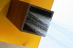 Chimenea de luz y agua casa RC Lassala+Orozco arquitectos