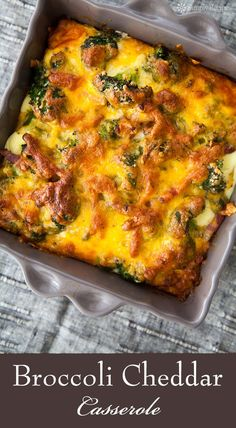 broccoli cheese casserole ever. Broccoli florets, blanched and baked ...