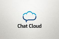 Chat Cloud Logo by Arslan on Creative Market