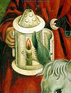 Detail from The Nativity, c. 1485-1495