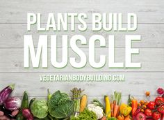 HOW TO BUILD MUSCLE WITH A VEGAN DIET - Now more than ever we are seeing health-conscious bodybuilders and athletes move towards a vegan diet for building muscle.  READ MORE https://www.vegetarianbodybuilding.com/vegan-muscle-building/