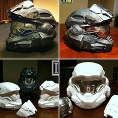 Soon to be a new addition to the halo helmet collection noble six