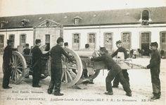 Carte Postale Postcard 1914-1918 Camp de Sissonne Artillerie lourde de Campagne la manoeuvre Heavy artillery of Countryside the maneuvre | Flickr - Photo Sharing!