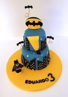 Tarta Batman.
