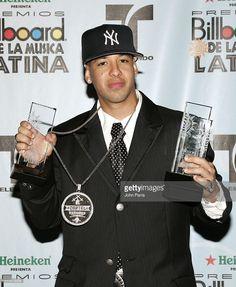 Daddy Yankee, winner Top Latin Albums Artist of the Year, Reggaeton Album of the Year for 'Barrio Fino: En Directo' and Reggaeton Song of the Year for 'Mayor Que Yo' with Baby Ranks, Tonny Tun Tun, Wisin y Yandel, Hector 'El Father'