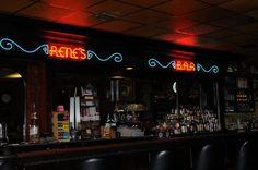Rene's Bar in Downtown Thibodaux.