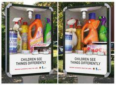 Los niños ven de forma diferente
